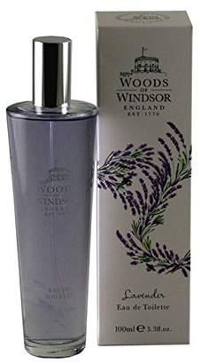 Woods of Windsor Eau De Toilette Spray, Lavender, 3.3 Ounce