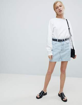 Dr. Denim Denim Mini Skirt