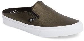 Women's Vans 'Classic' Slip-On Sneaker Mule $59.95 thestylecure.com