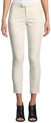 ATM Anthony Thomas Melillo Stretch-Corduroy Cropped Slim-Leg Pants