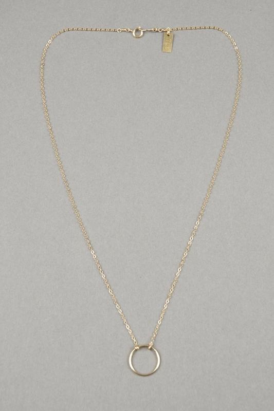 Iwona Ludyga Design Small Hoop Necklace