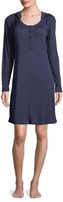 La Perla Women's Ruffle Sleepshirt