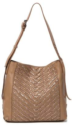 Kooba Aisha Woven Leather Shoulder Bag