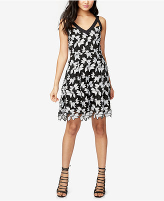Rachel Rachel Roy Floral Lace Fit & Flare Dress $169 thestylecure.com