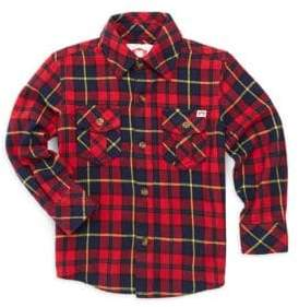 Appaman Little Boy's & Boy's Cotton Flannel Shirt