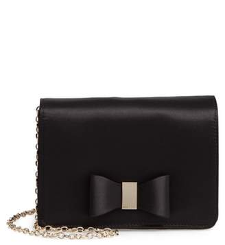 Ted Baker Eveelyn Bow Satin Evening Bag