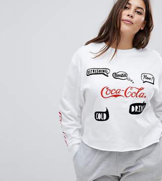 Asos LOUNGE Coca Cola Sweat