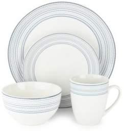 American Atelier Cadence 16-Piece Porcelain Dinnerware Set