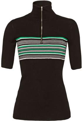 Prada Short-sleeved silk sweater