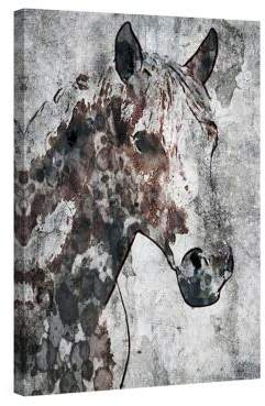Marmont Hill Ranch Horse Painting Print on Wrapped Canvas
