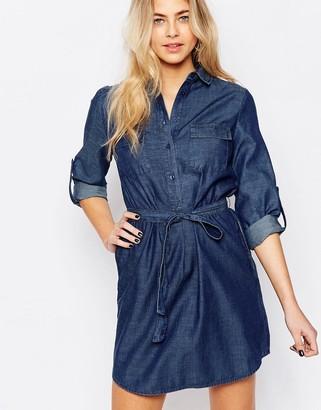 Oasis Denim Shirt Dress $75 thestylecure.com