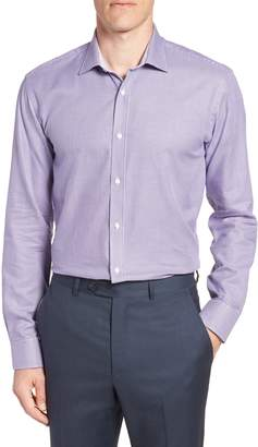 Ted Baker Phonbox Trim Fit Check Dress Shirt