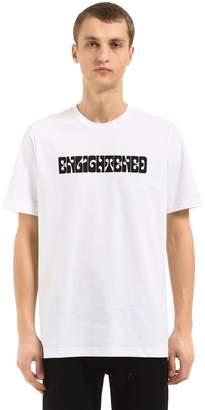 Oamc Enlightened Print Cotton Jersey T-Shirt