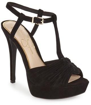 Jessica Simpson 'Bassie' T-Strap Platform Sandal (Women) $88.95 thestylecure.com