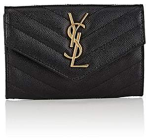 Saint Laurent Women's Monogram Small Leather Wallet