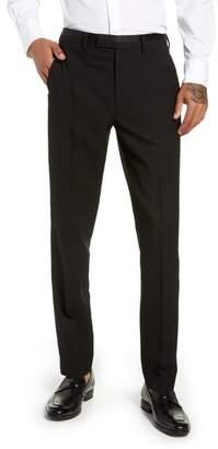 Topman Kingley Slim Fit Tuxedo Pants