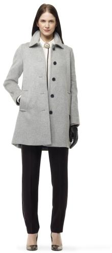 Club Monaco Gisele A-Line Wool Coat