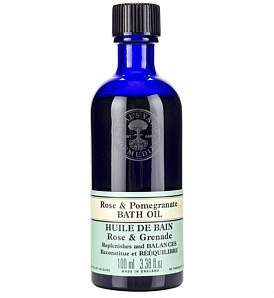 Neal's Yard Remedies Rose & Pomegranate Bath Oil 100Ml
