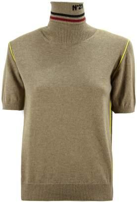 N°21 N.21 Camel Turtle-neck Sweater