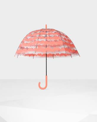 Hunter Storm Stripe Print Bubble Umbrella