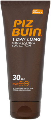 Piz Buin 1 Day Long Lasting Sun Lotion - High SPF30 100ml