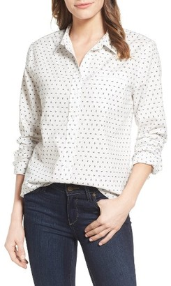Women's Nydj Linen & Cotton Shirt $98 thestylecure.com