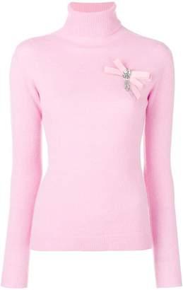 Liu Jo embellished turtleneck sweater