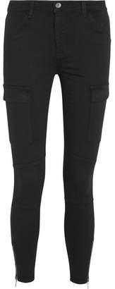 Splendid Hunter Stretch Modal-blend Twill Skinny Pants - Black