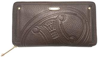 Celine Brown Leather Purses, wallets & cases