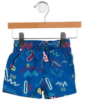Stella McCartney Boys' Printed Swim Trunks