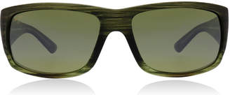 Maui Jim World Cup Sunglasses Stripe Green HT266-15MR Polariserade 64mm