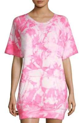Michael Kors Cashmere Tie Dye Top