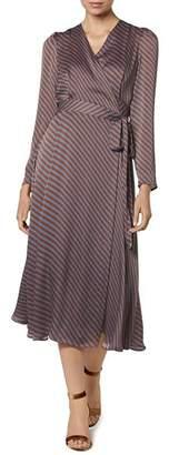 LK Bennett Loreta Striped Wrap Dress