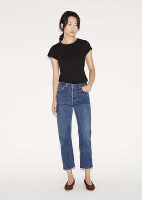 RE/DONE High Rise Crop $265 thestylecure.com