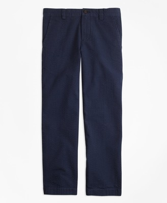 Brooks Brothers Boys Washed Seersucker Pants