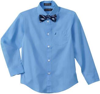 Nautica Boys' 2Pc Dress Shirt & Bowtie Set