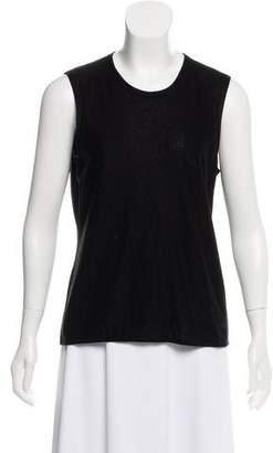 Chanel Cashmere & Silk-Blend Sleeveless Top