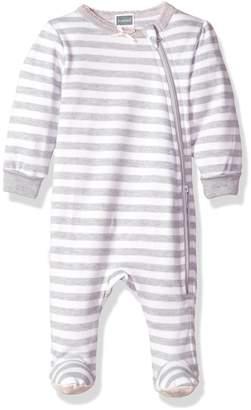 Kushies Baby Girls Classics Side Zip Sleeper