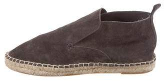 Vince Suede Espadrille Ankle Boots
