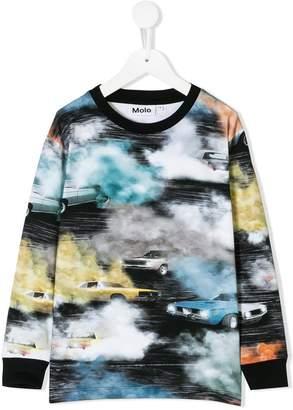 Molo car print T-shirt