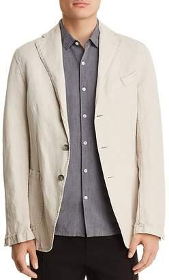 Eidos Garment Washed Cotton Regular Fit Sport Coat