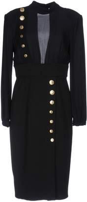 Elisabetta Franchi PASSEPARTOUT DRESS by CELYN b. Knee-length dresses