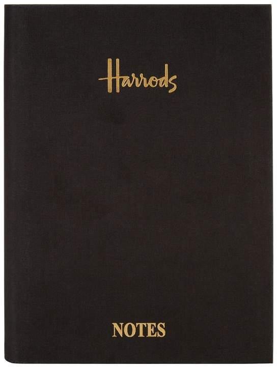 A5 Black Linen Notebook