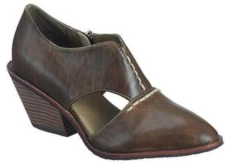 Antelope Cowboy Cutout Leather Bootie