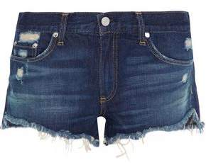 Rag & Bone Doris Distressed Denim Shorts