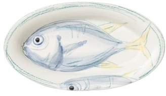 Vietri Pescatore Small Oval Tray