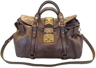 Miu Miu Vitello leather handbag