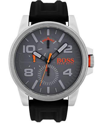 BOSS ORANGE Multifunction Detroit Silicone Strap Watch