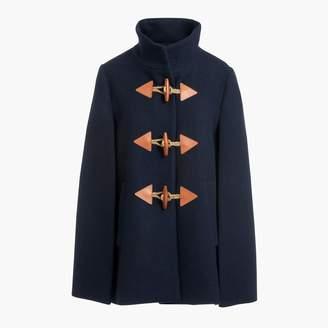 J.Crew Factory Wool cape-coat