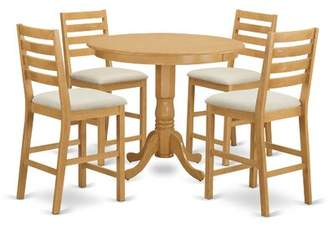 Winston Porter Olyphant 5 Piece Dining Counter Height Pub Table Set Winston Porter